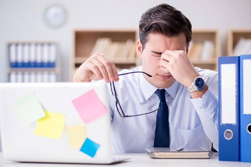 Migraña ocular, un trastorno asociado con la fatiga visual