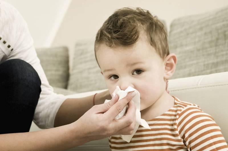 ¿Por qué la nariz de niños pasa congestionada?