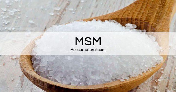 MSM. Propiedades, Beneficios, Efectos y Como tomarlo