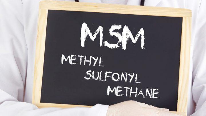 MSM: ¡efectos beneficiosos del azufre orgánico!