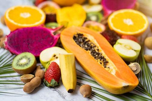 Las 5 mejores frutas antiinflamatorias